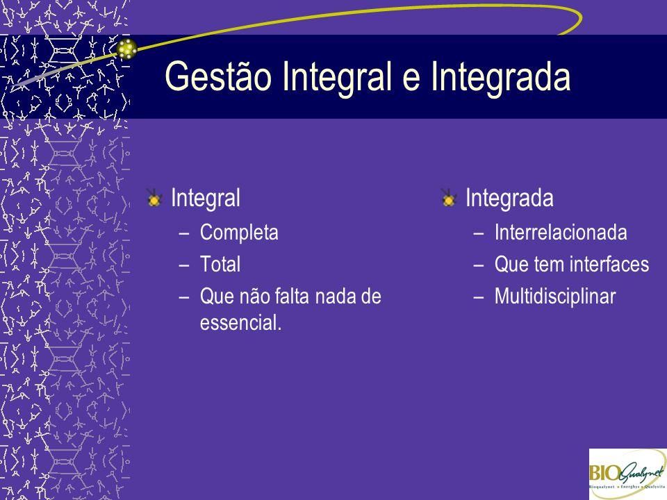 Gestão Integral e Integrada