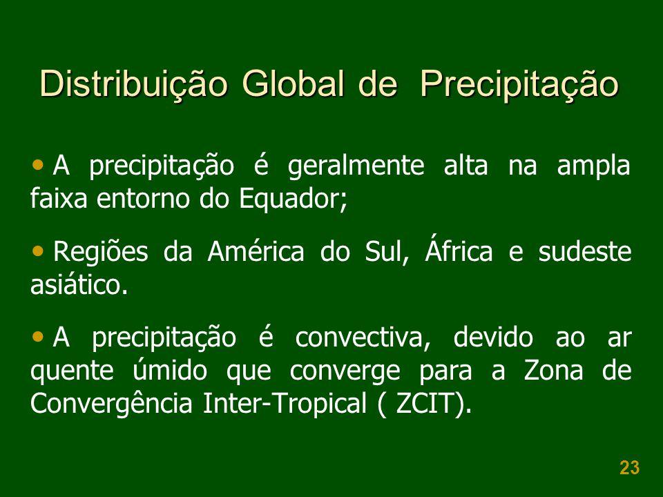 Distribuição Global de Precipitação