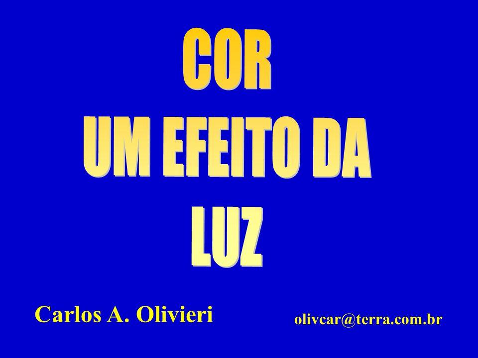 COR UM EFEITO DA LUZ Carlos A. Olivieri olivcar@terra.com.br