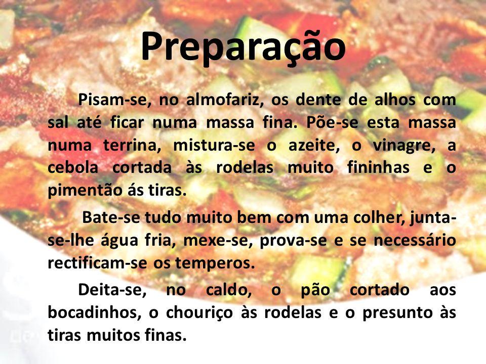 Preparação