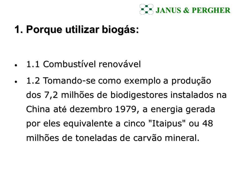 Porque utilizar biogás: