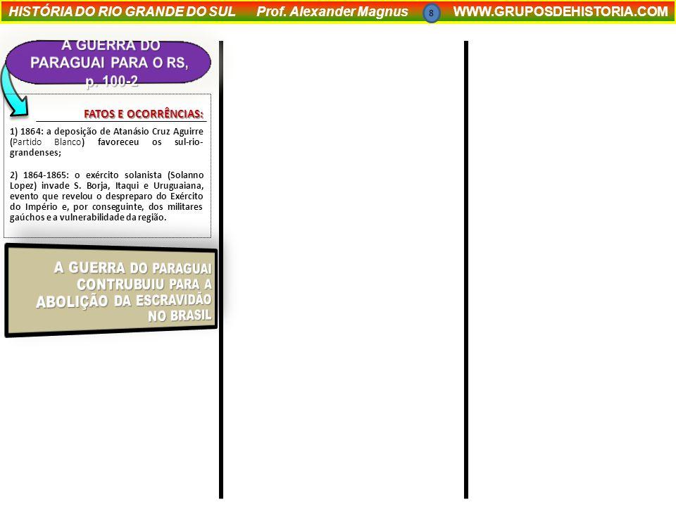 A GUERRA DO PARAGUAI PARA O RS, p. 100-2