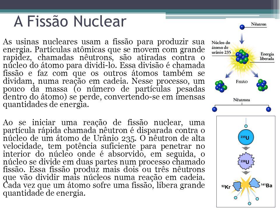 A Fissão Nuclear