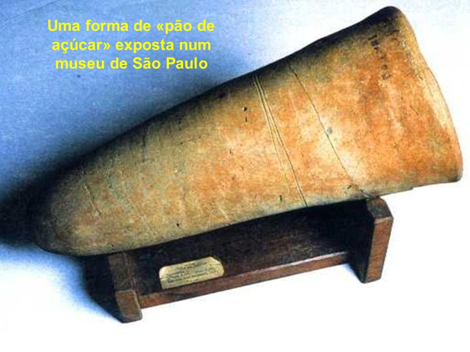 Uma forma de «pão de açúcar» exposta num museu de São Paulo