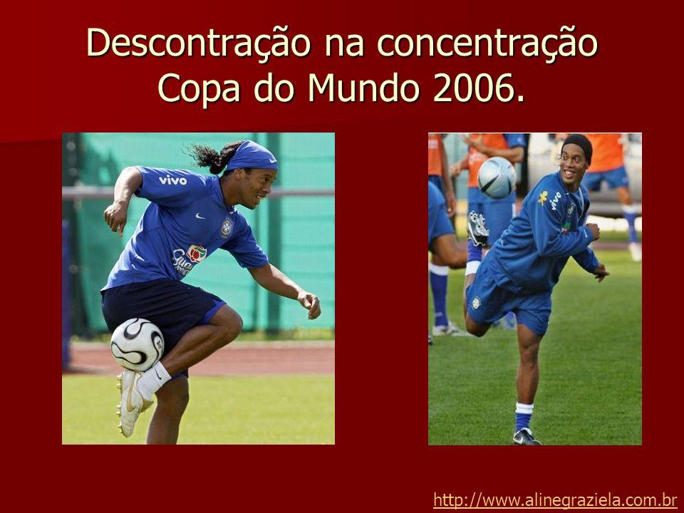 Descontração na concentração Copa do Mundo 2006.