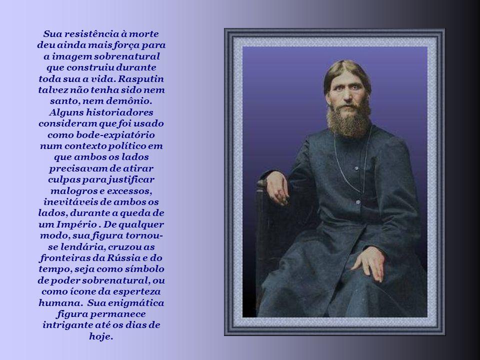 Sua resistência à morte deu ainda mais força para a imagem sobrenatural que construiu durante toda sua a vida.