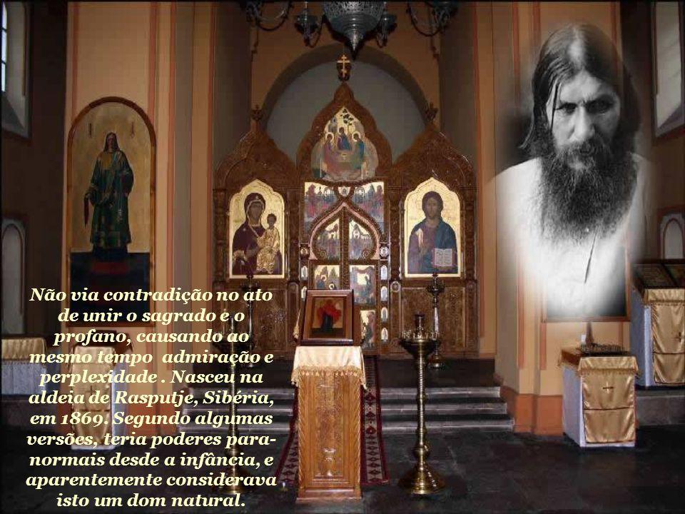 Não via contradição no ato de unir o sagrado e o profano, causando ao mesmo tempo admiração e perplexidade .