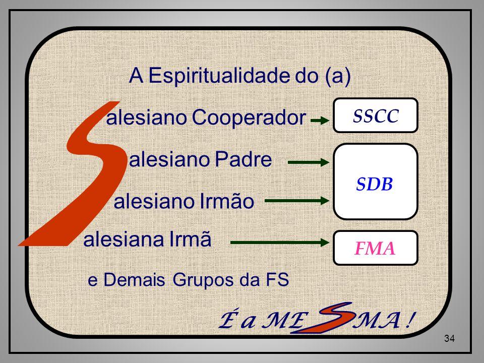 A Espiritualidade do (a)