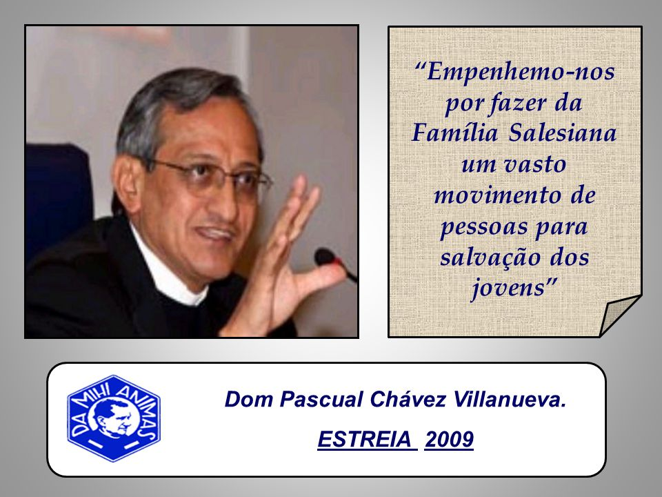 Dom Pascual Chávez Villanueva.
