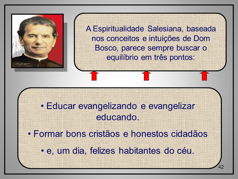 Educar evangelizando e evangelizar educando.