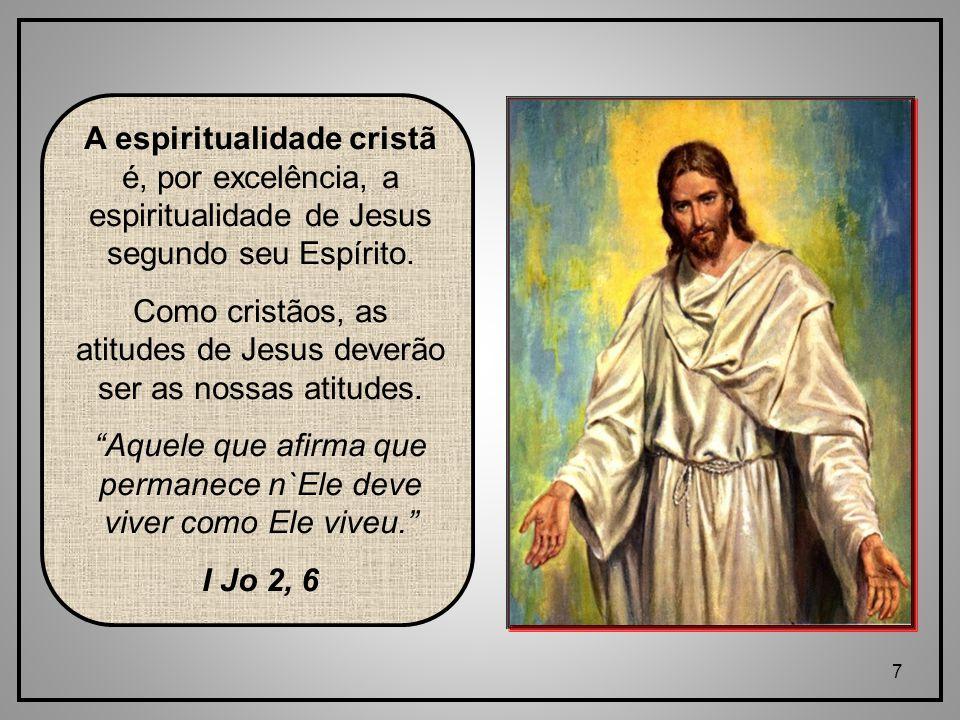 Como cristãos, as atitudes de Jesus deverão ser as nossas atitudes.