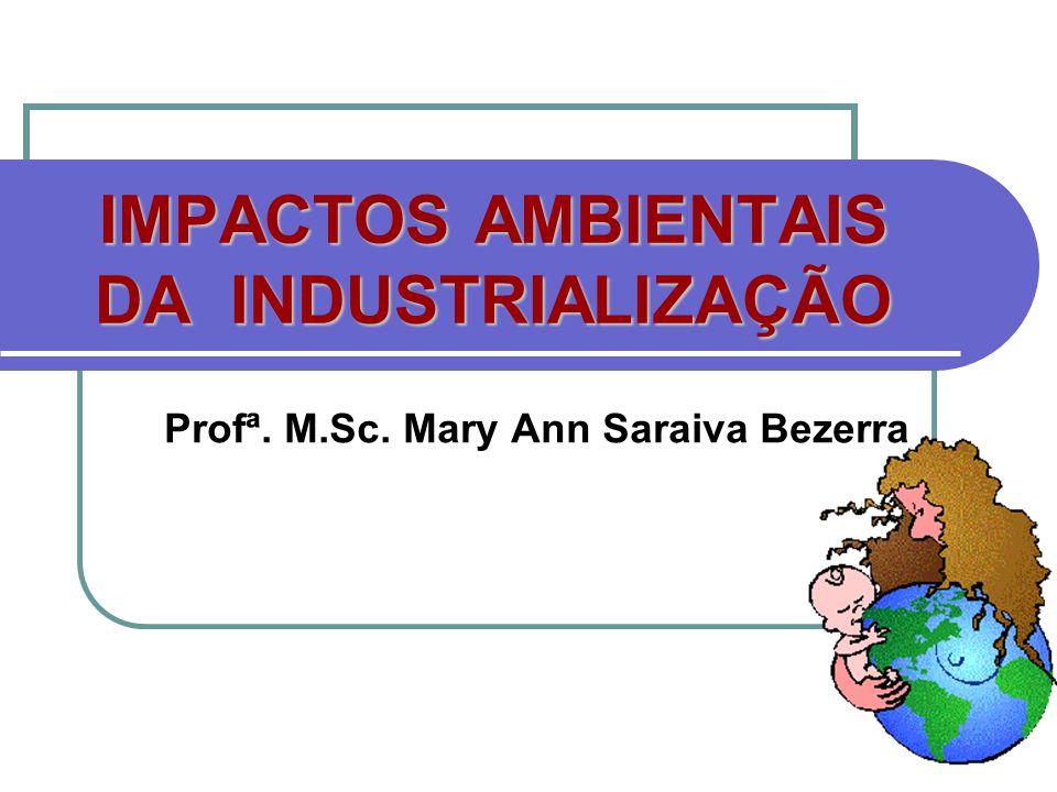 IMPACTOS AMBIENTAIS DA INDUSTRIALIZAÇÃO