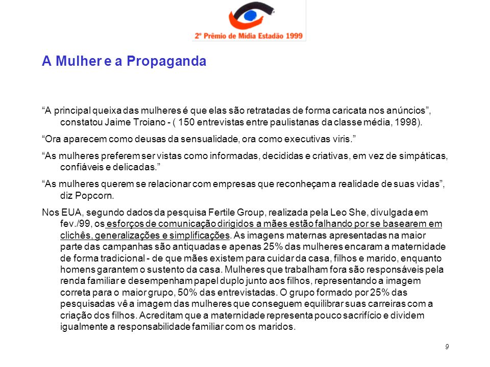 A Mulher e a Propaganda