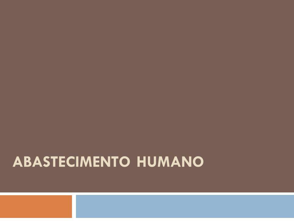 Abastecimento Humano