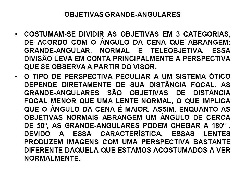 OBJETIVAS GRANDE-ANGULARES