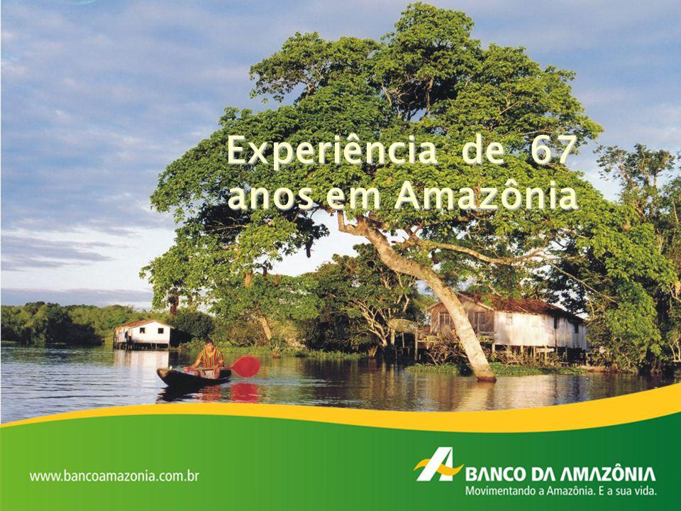 Experiência de 67 anos em Amazônia