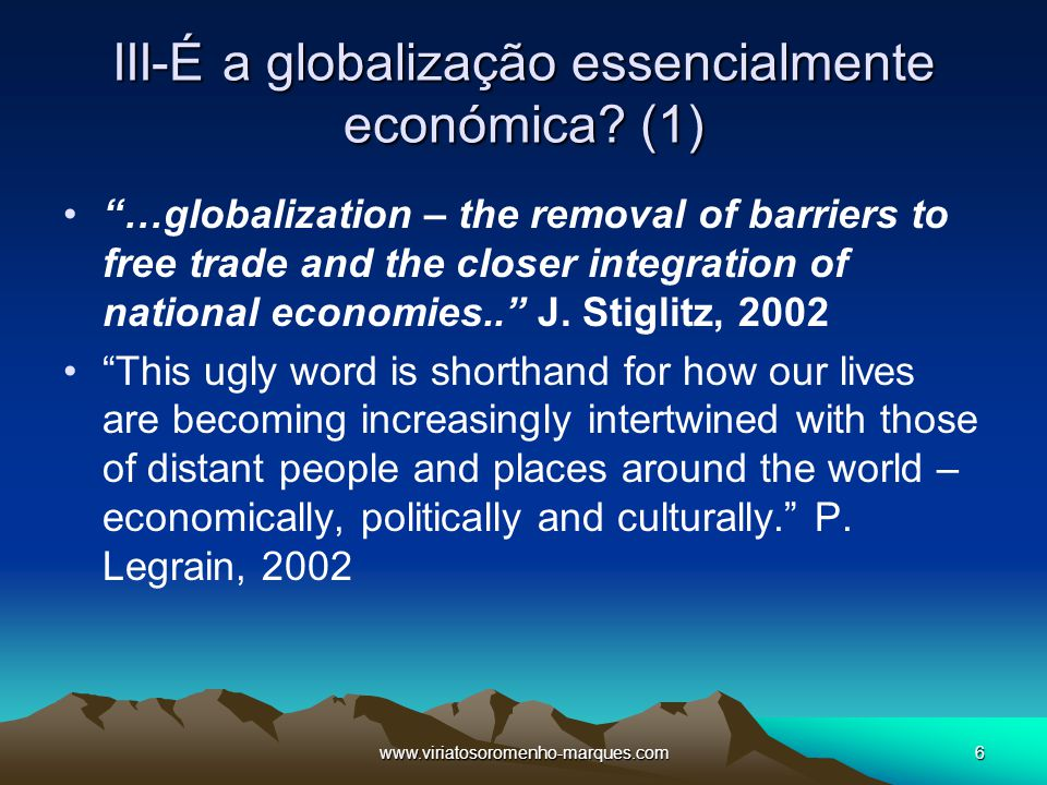 Seis perguntas para compreender a globaliza o ppt carregar for Arjun appadurai how to make a national cuisine
