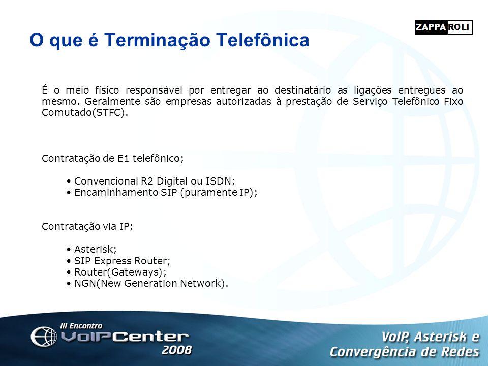 O que é Terminação Telefônica