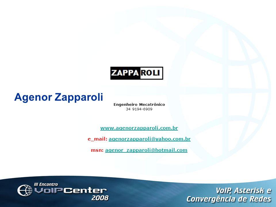 Agenor Zapparoli www.agenorzapparoli.com.br