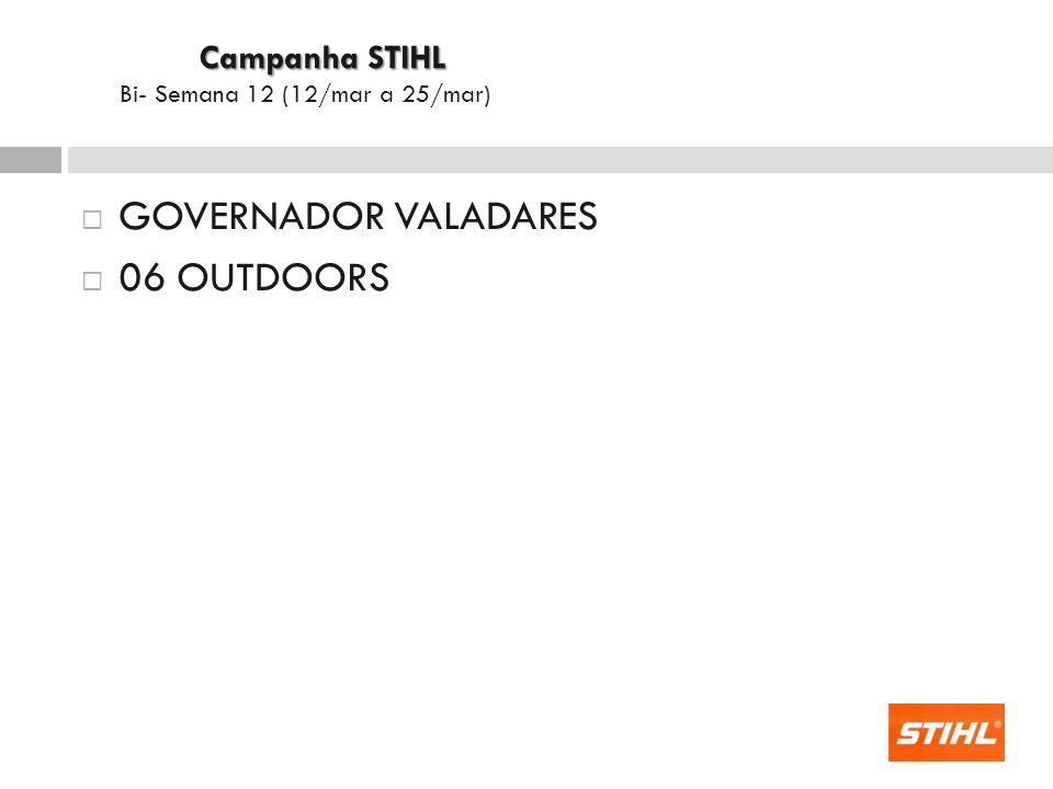 GOVERNADOR VALADARES 06 OUTDOORS Campanha STIHL