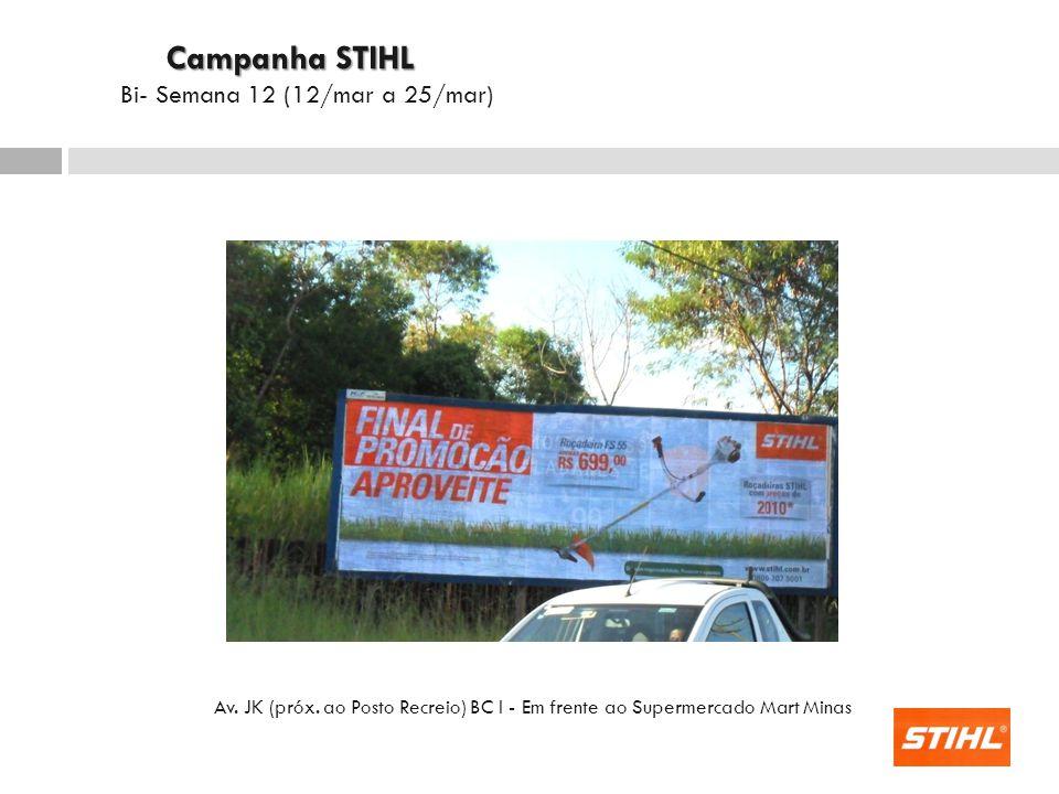 Campanha STIHL Bi- Semana 12 (12/mar a 25/mar)