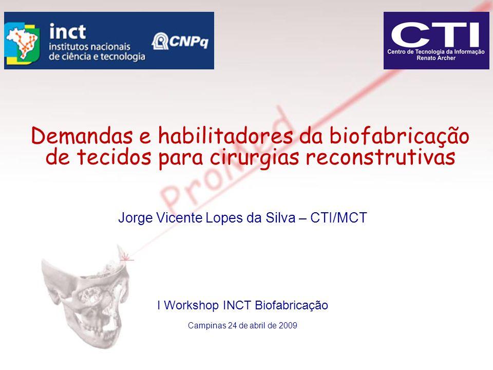 Demandas e habilitadores da biofabricação de tecidos para cirurgias reconstrutivas