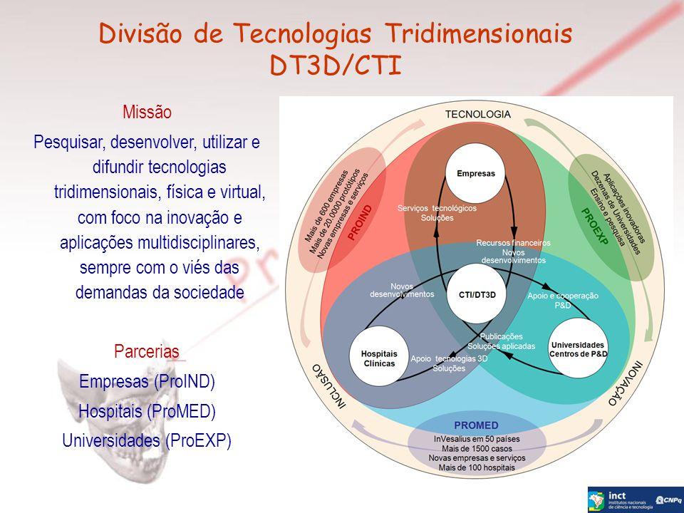 Divisão de Tecnologias Tridimensionais DT3D/CTI
