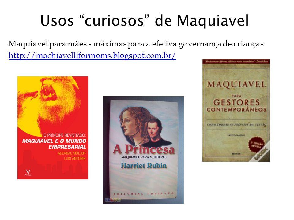 Usos curiosos de Maquiavel