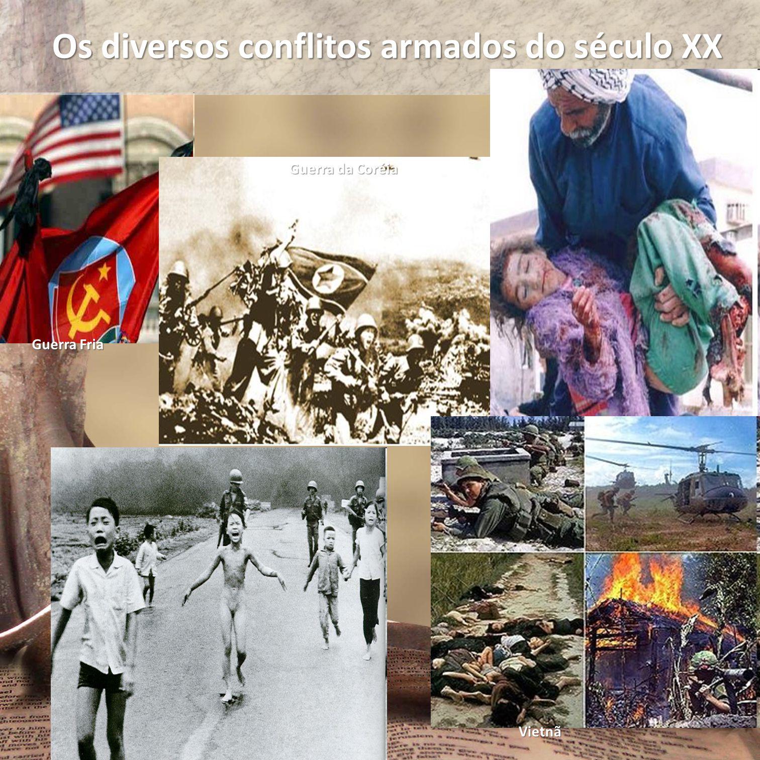 Os diversos conflitos armados do século XX