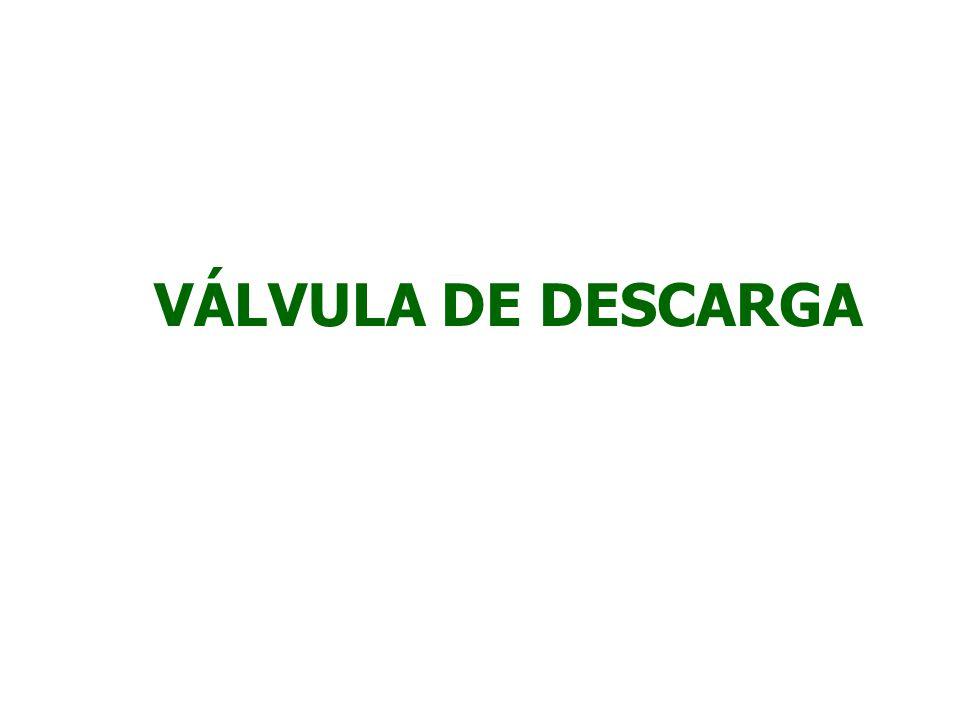VÁLVULA DE DESCARGA