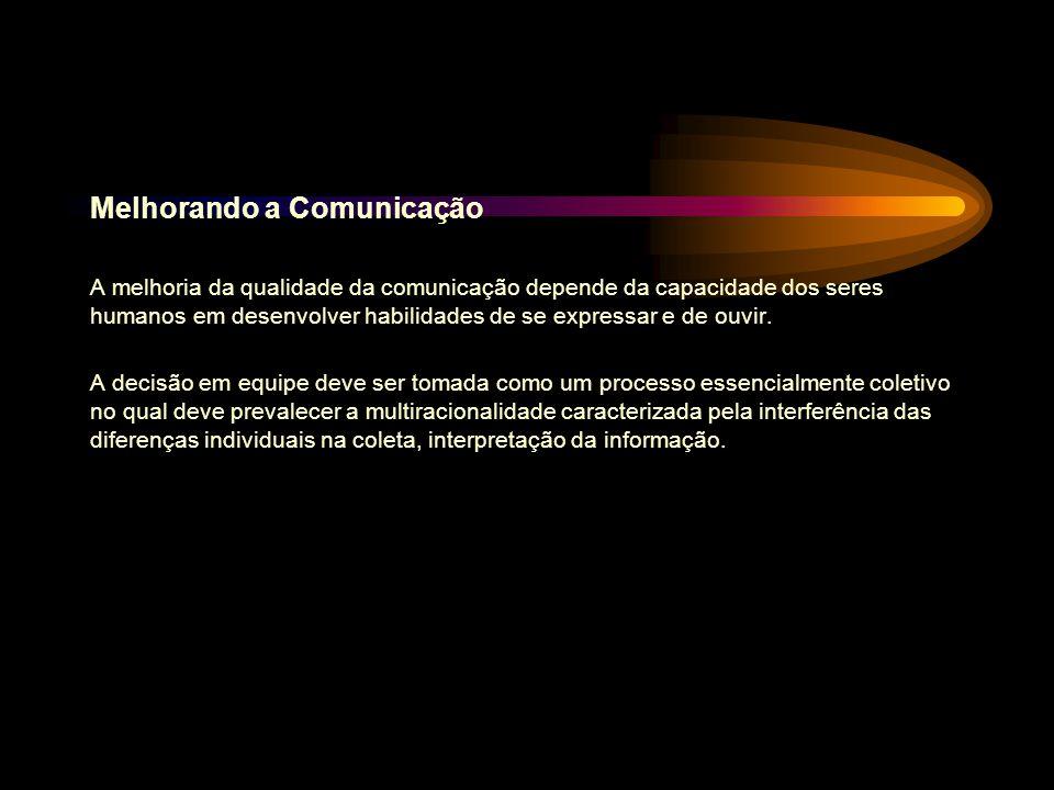 Melhorando a Comunicação