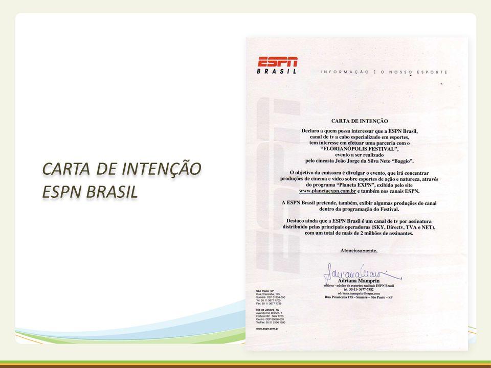 CARTA DE INTENÇÃO ESPN BRASIL