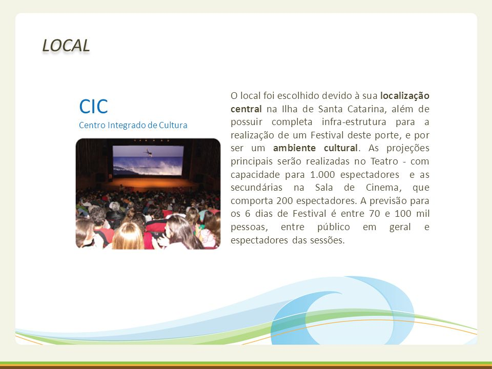 CIC Centro Integrado de Cultura