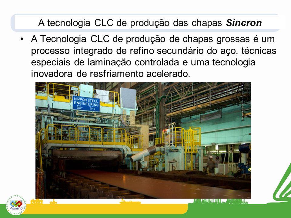 A tecnologia CLC de produção das chapas Sincron
