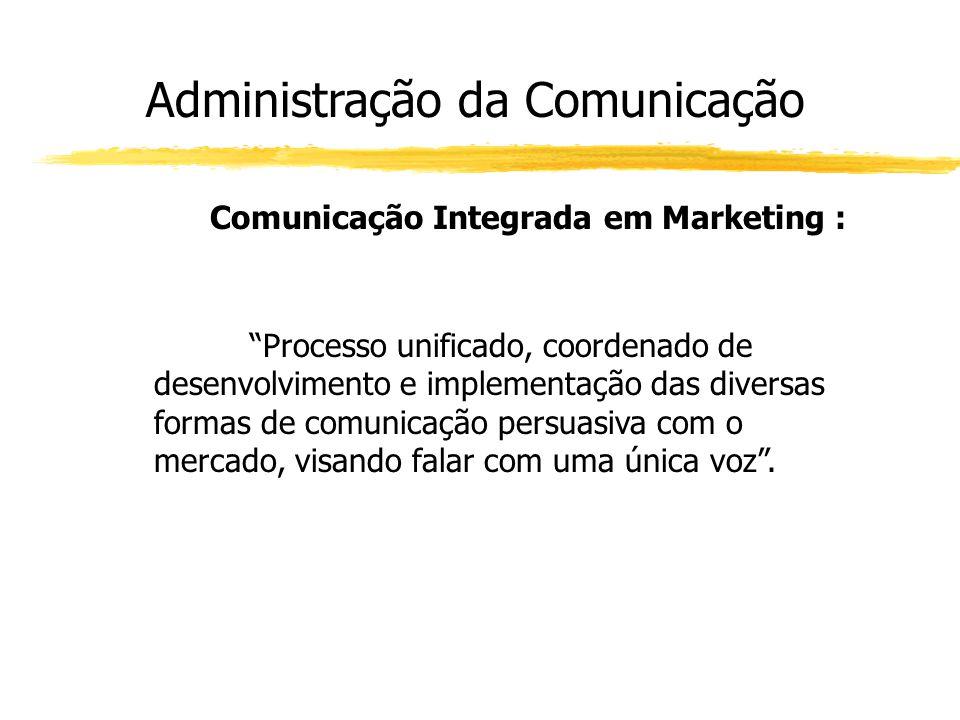 Comunicação Integrada em Marketing :