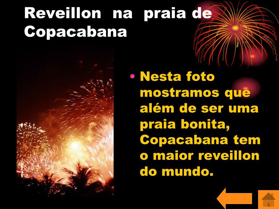 Reveillon na praia de Copacabana
