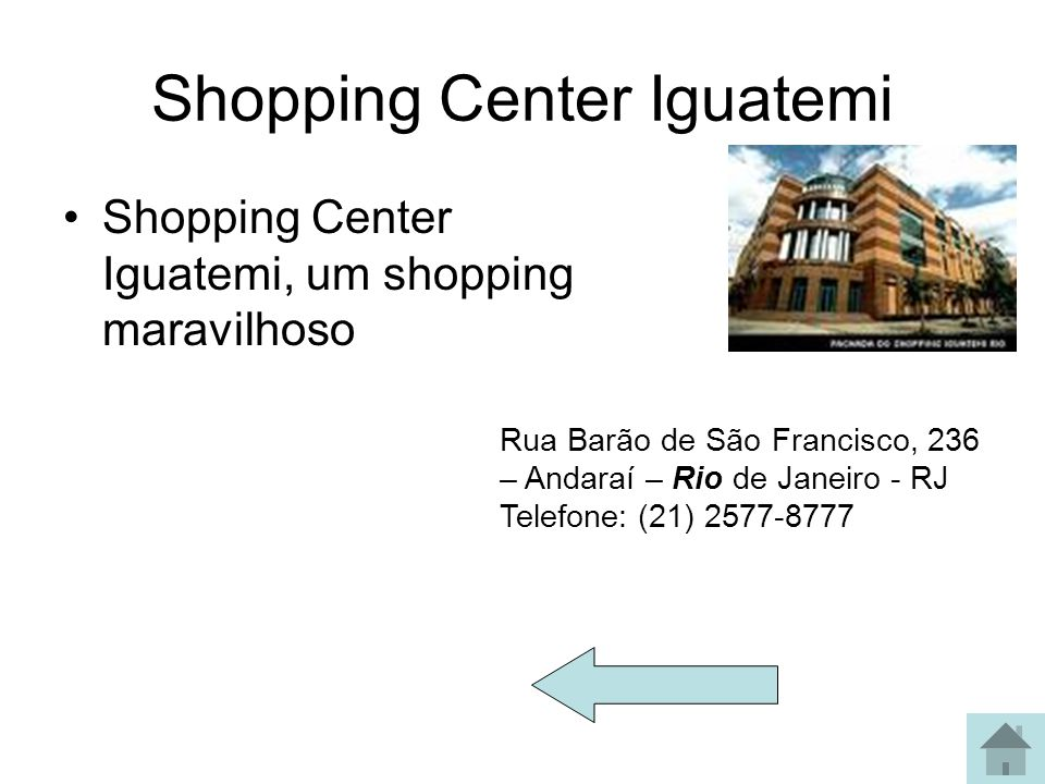 Shopping Center Iguatemi