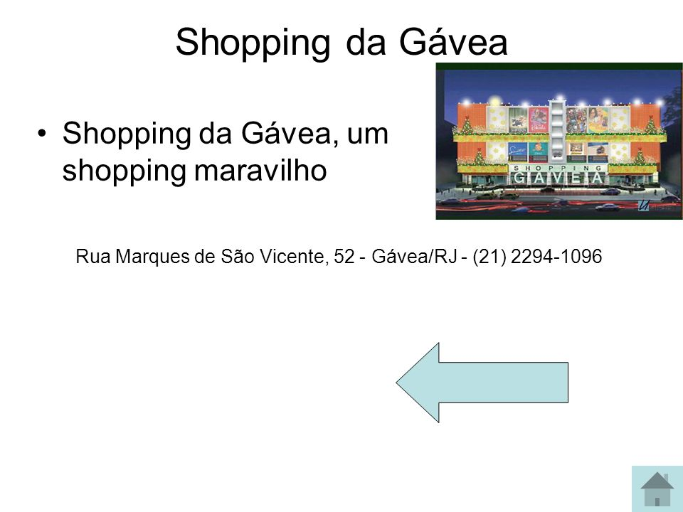 Shopping da Gávea Shopping da Gávea, um shopping maravilho