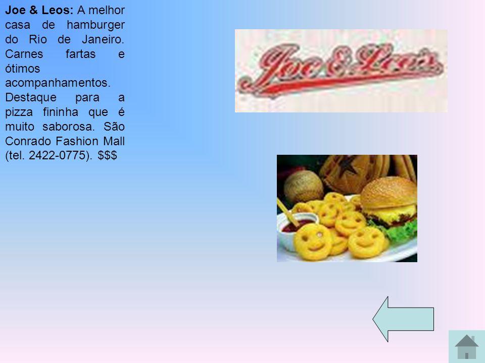 Joe & Leos: A melhor casa de hamburger do Rio de Janeiro