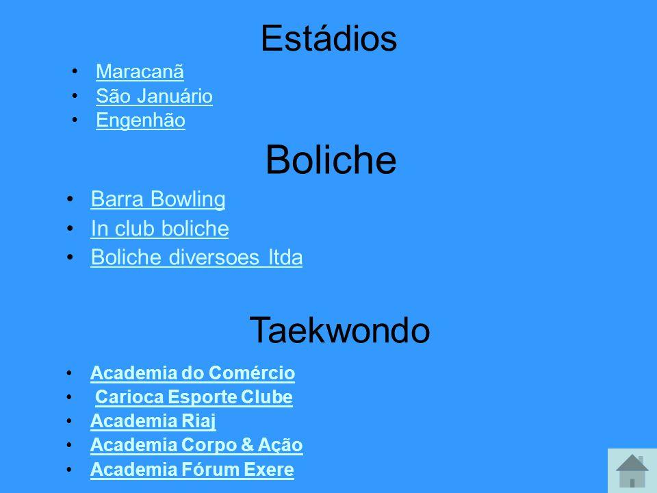 Boliche Estádios Taekwondo Barra Bowling In club boliche