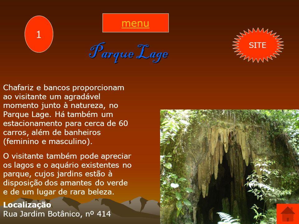 menu 1. SITE. Parque Lage.