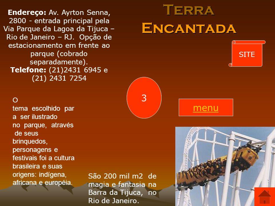 Endereço: Av. Ayrton Senna, 2800 - entrada principal pela Via Parque da Lagoa da Tijuca – Rio de Janeiro – RJ. Opção de estacionamento em frente ao parque (cobrado separadamente).