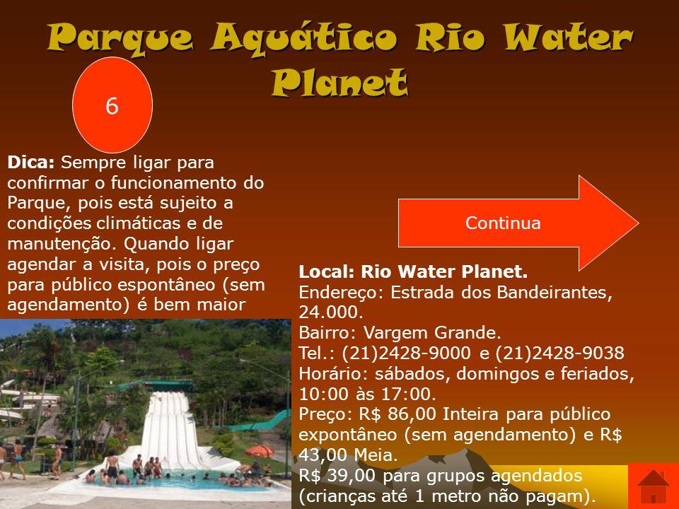 Parque Aquático Rio Water Planet