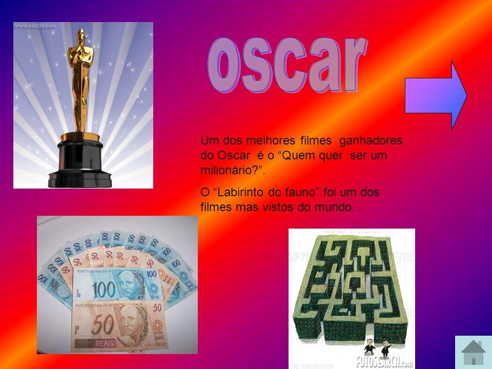 oscar Um dos melhores filmes ganhadores do Oscar é o Quem quer ser um milionário .
