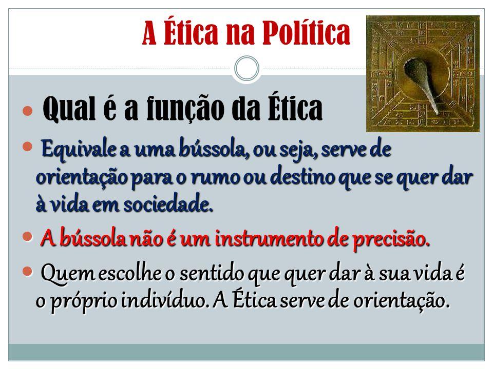 A Ética na Política Qual é a função da Ética