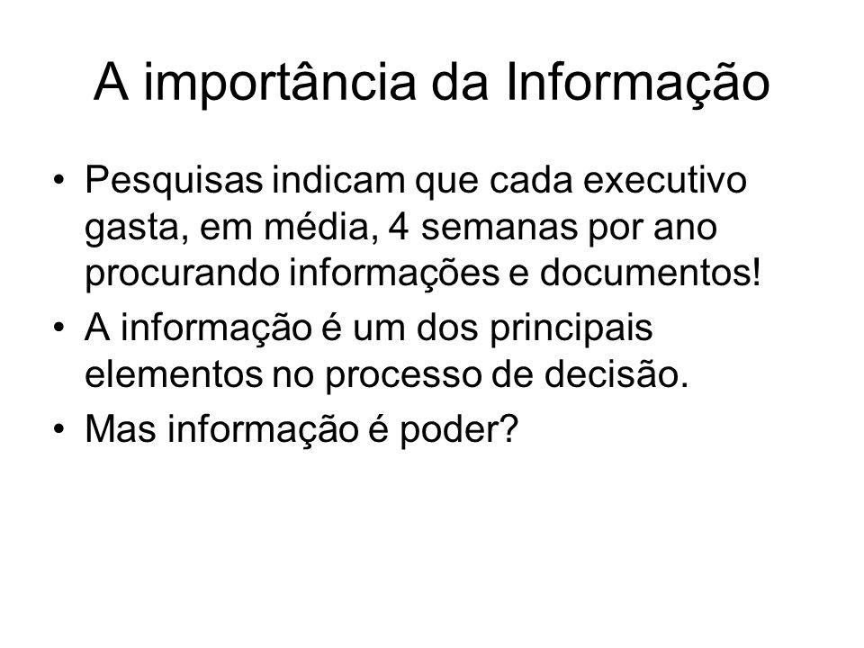 A importância da Informação