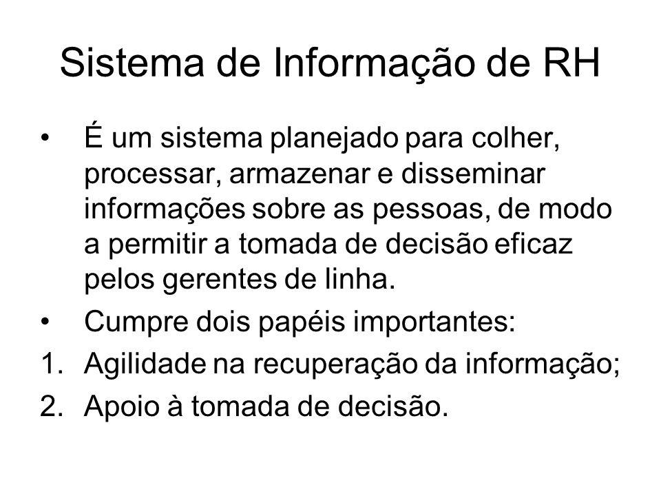 Sistema de Informação de RH