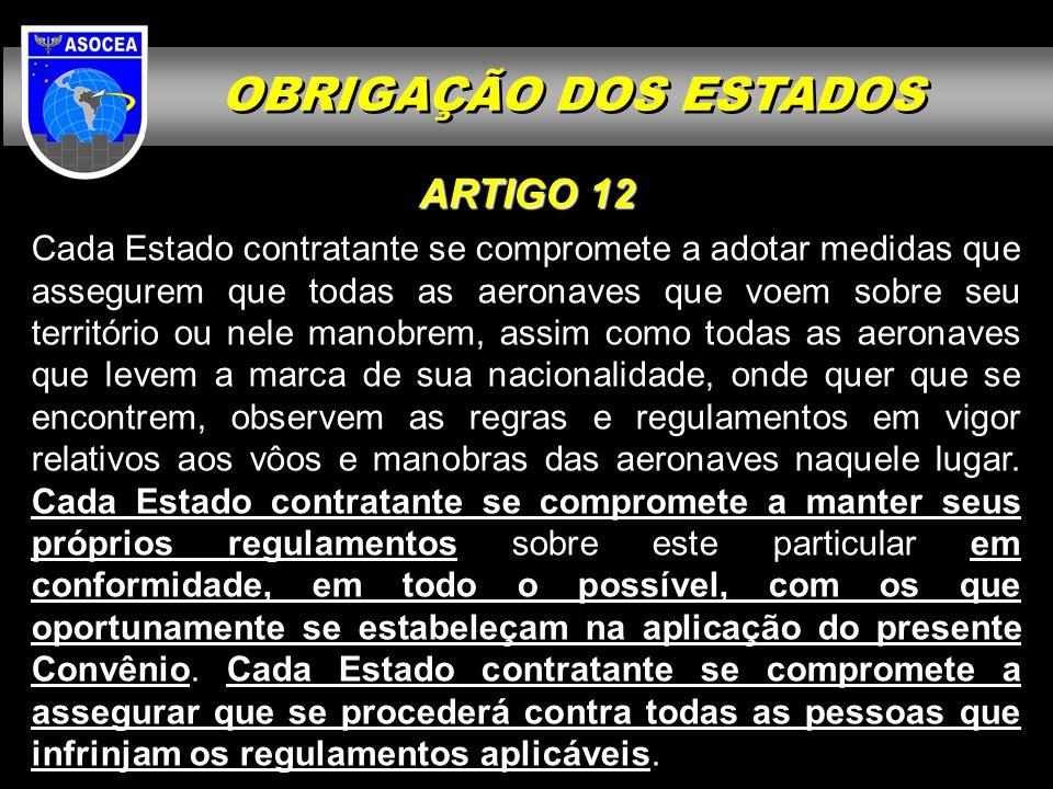 OBRIGAÇÃO DOS ESTADOS ARTIGO 12