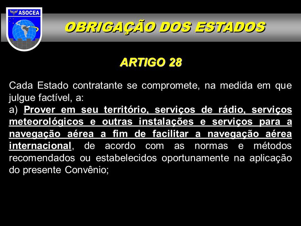 OBRIGAÇÃO DOS ESTADOS ARTIGO 28