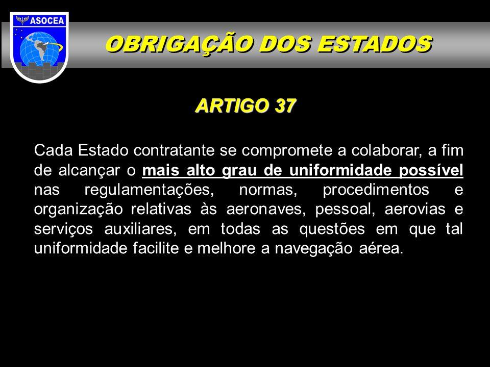 OBRIGAÇÃO DOS ESTADOS ARTIGO 37